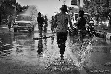 Water Festival in Myanamr 18 by nyiminsan