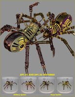 DP1 Textured Spider Promo by Shadowhawk9973