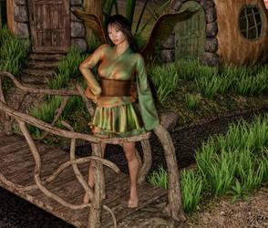 AprilFAE - Eastern Night Fairy by Shadowhawk9973