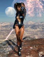 Jersey Rai (Guardian of Texarrax) by Shadowhawk9973