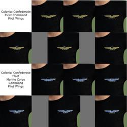 CCF Pilot Wings Pin Promo by Shadowhawk9973