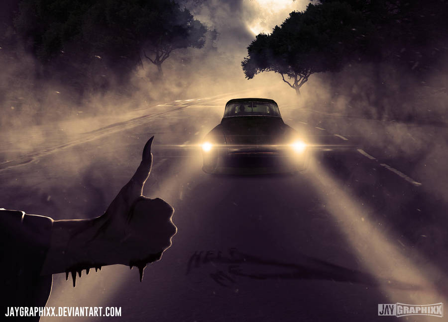 The Hitchhiker by JayGraphixx