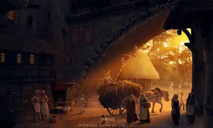 Royal Dynasty: Market Place by JayGraphixx
