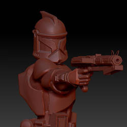 Zbrush Clone Trooper by Tystoystore