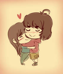 Love me twice by Mr-Shin
