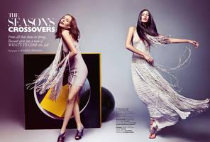 Harper's Bazaar In Editorial by Nienna1990