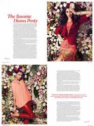 Verve Cover Story Diana Penty by Nienna1990