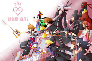 Kingdom Hearts Heroes by daniwae