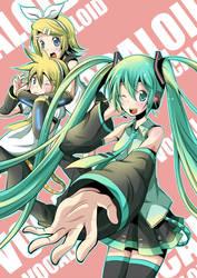 Vocaloid by daniwae