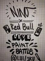 Nino x RedBull Live Paint Battle  WATCH the VIDEO by NNWW