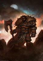 Undead Warrior by GregTaylorArt