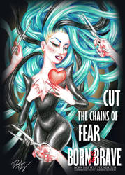 Cut The Chains Of Fear by DibuMadHatter