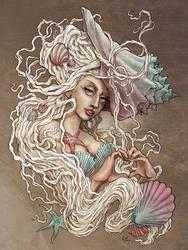 Seashell Venus 2.0 (Lady Gaga) by DibuMadHatter