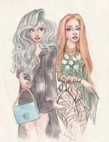 Lady Gaga in Milan by DibuMadHatter