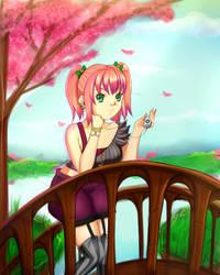 Sakura by ORENJI-SAMA