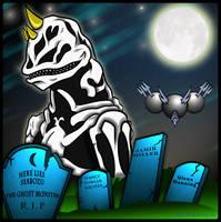 KMAC - Seabozu and the real Kaiju Graveyard by earthbaragon