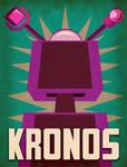 Kronos 1957 Minimalist Poster by earthbaragon