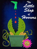 The Little Shop of Horrors - Minimalist Poster by earthbaragon