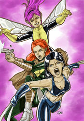 X-Women New Generation by Variable-Edge
