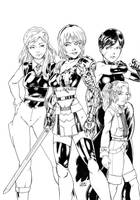 The Variable Girls by Variable-Edge