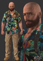 Max Payne 3 - Max Payne (Favela) by thePWA
