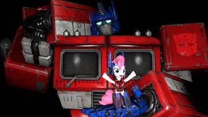 Pinkie mus Prime by SonicTFMLP123