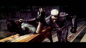 Wesker and Chris 2 by Captain-AlbertWesker