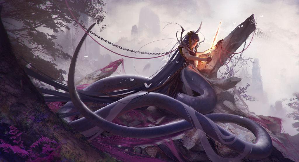 Naga by Harpiya