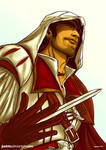 Ezio Auditore colors by jaxinto