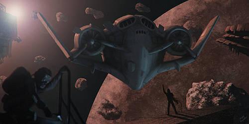Orbital junky by kabarsa