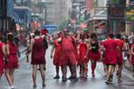 Red Dress Run by Tomoji-ized
