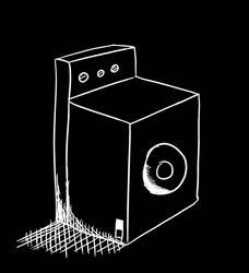 Washing machine doodle by internetguy123