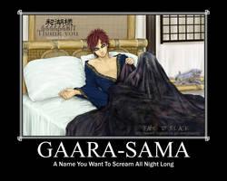 Gaara-screams by GaarasKittyGirl