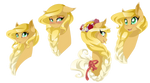 Lace Ribbon by MagicaRin