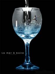 La mer... by lasaucisse
