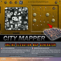 CITY MAPPER (Online script for Bryce and more) by lasaucisse