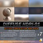 Free HDRI : 029-diffuse-hdri-pack-01 by lasaucisse