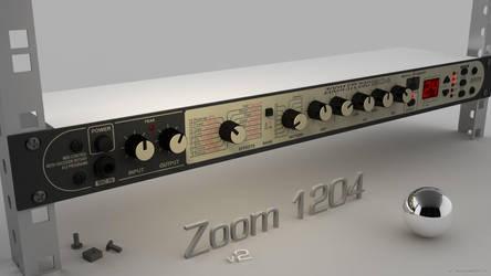 Zoom Studio 1204 19' rack  Final render v2(bis) by lasaucisse