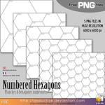 Free Stuff : Hexagons by lasaucisse