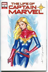 captain marvel by Artfulcurves