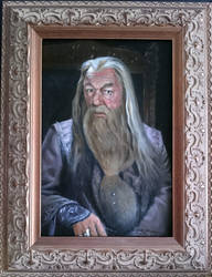 Dumbledore portrait by Krats
