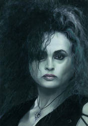 Bellatrix Lestrange by Krats