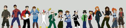 Hero School: Crossover by lostatsea101