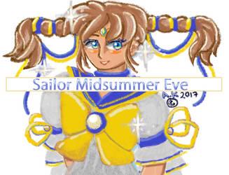 Sailor Midsummer Eve 2017 23 JUNE ART by Snowlyn