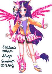 Shadonette MYO Done by Snowlyn