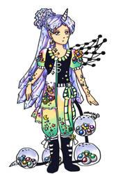 Second Crystal Hair Nunuke-Unlimited-Myo Girl by Snowlyn