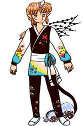 Third Crystal hair Nunuke-Unlimited-Myo Guy by Snowlyn