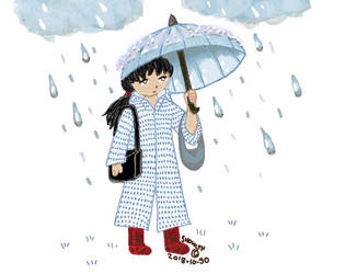 My outfit for today in the rain by Snowlyn