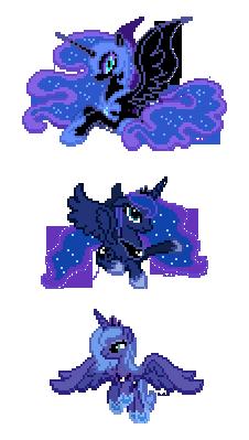 Luna Sprites by Hexfloog