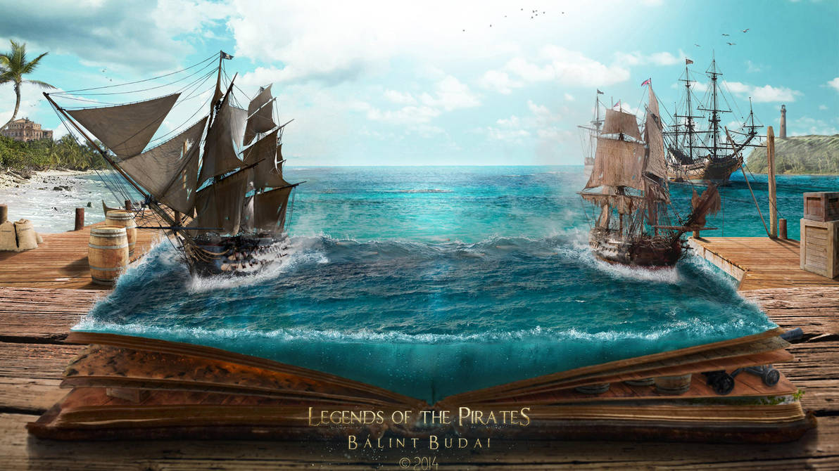 Legends of the Pirates by balint4